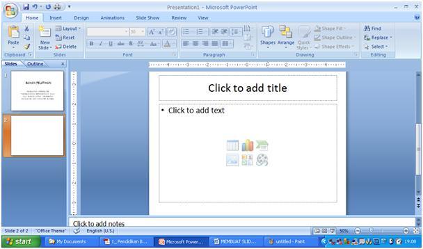 cara mengoperasikan microsoft word 2007 beserta gambarnya